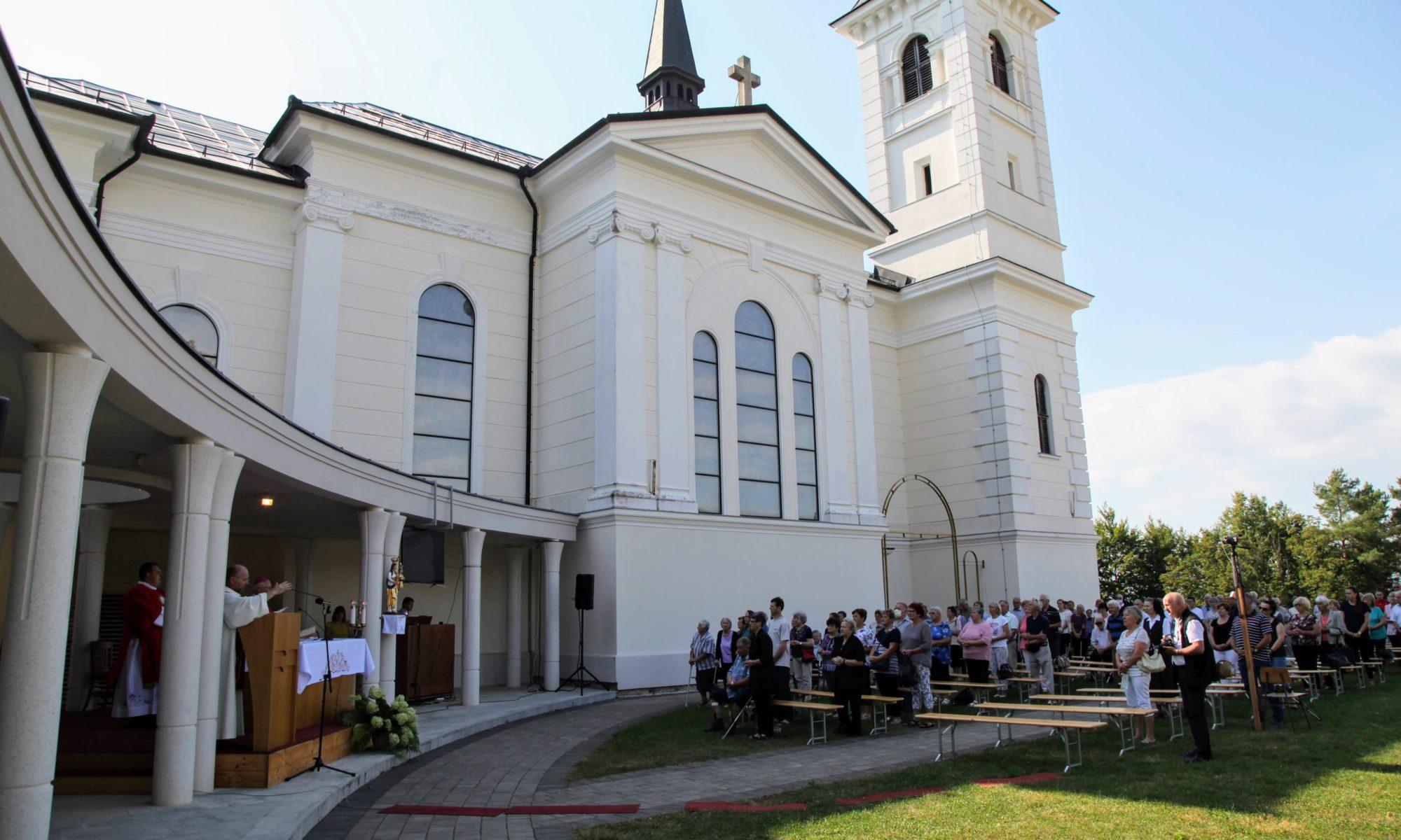 božjepotna cerkev Marije Pomočnice na Zaplazu
